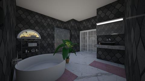 snel gemaakt  - Modern - Bathroom - by lunaklaassen