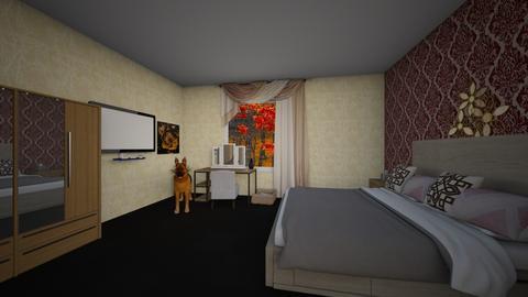 Magamistuba - Bedroom - by helike700