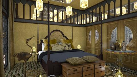 Nefertiti - Classic - Bedroom - by chania