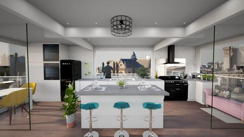 Modern kitchen - Kitchen - by Andrula