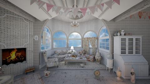 Shabby Chic Living - Living room - by AlocinB