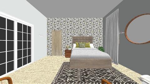 guest bed 2 - Eclectic - Bedroom - by reemasreepathi