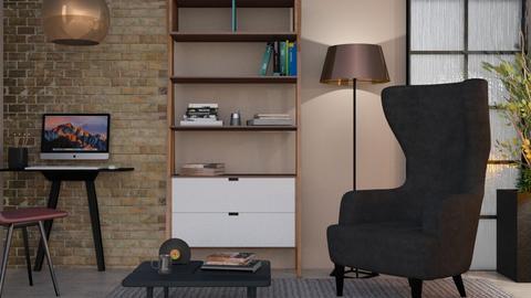 M_ T D - Living room - by milyca8