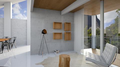 Natural Light Montain - Living room - by Valeska Stieg