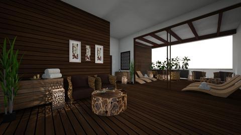 Japanese lounge - Minimal - by kristianvalchev