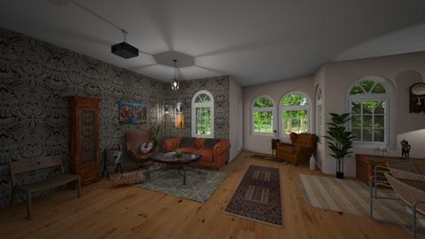 Vardagsrum - Living room - by ellafrodin