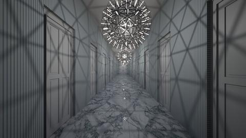 Corridor - by Thigpen
