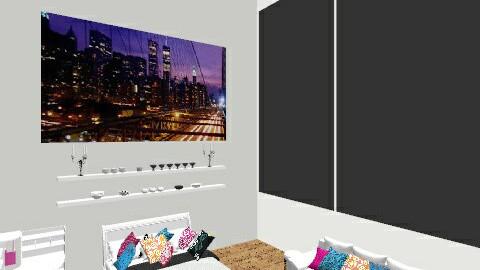 Dream Room - Feminine - Bedroom - by BeckAsHeck