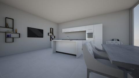 Basic Kitchen - Modern - Kitchen - by CizzleG