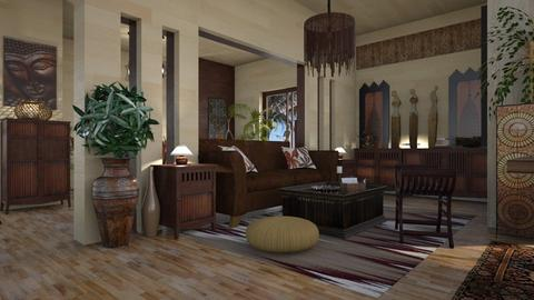 Balinese Apartment - by ZsuzsannaCs