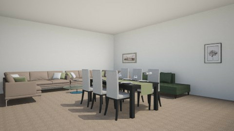 for good family - Dining room - by Raouf Sassine