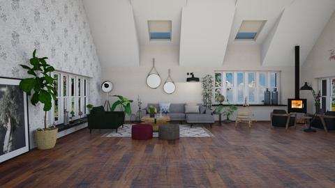boho - Living room - by TRMVM