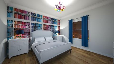 bedroom again - by Paris Lidgard