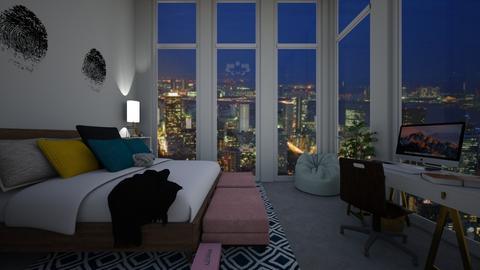 City - Living room - by jasmijnvanlieshout