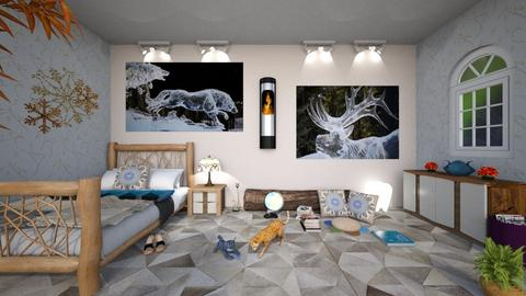 Magic winter 2 - Eclectic - Bedroom - by Orionaute