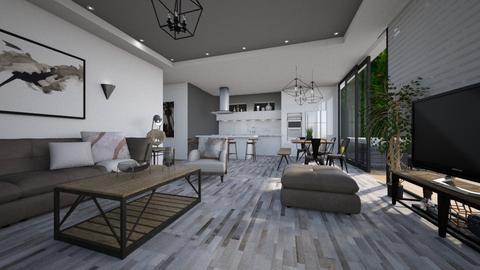 Shroom - Living room - by Lackew