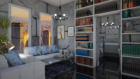 apartment 7 - Living room - by cguy67