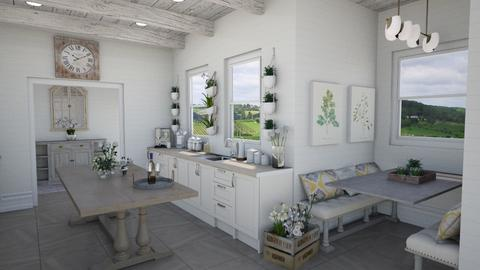 Farmhouse Kitchen - Rustic - Kitchen - by Samantha Krug