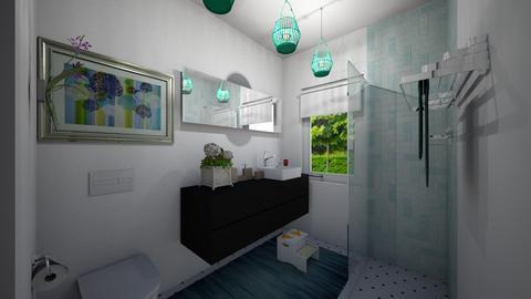 parter Chiajna - Bathroom - by Flori Santa