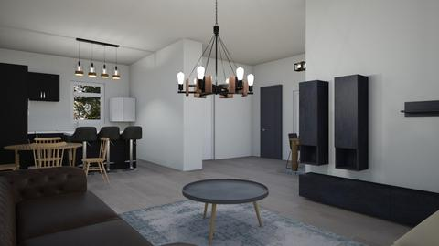 ev - Living room - by Ebru Tekneci