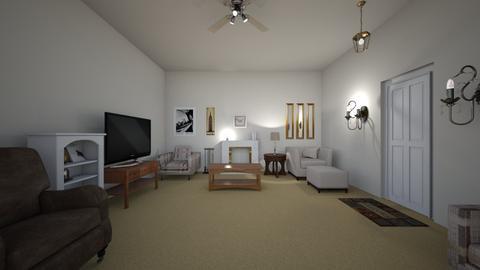 Urban Apartment - Living room - by WestVirginiaRebel