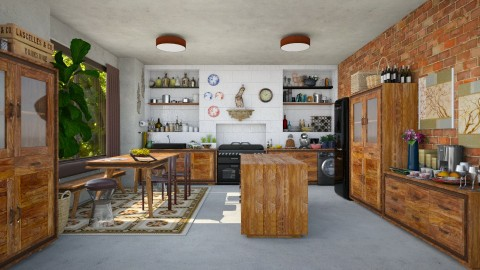 Benavente Kitchen - Kitchen - by Joao M Palla