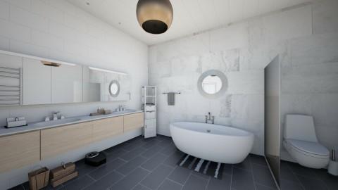 kylpyhuone - Bathroom - by lumiveistos
