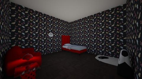 My panda bedroom - Bedroom - by Deyana Cvetkova