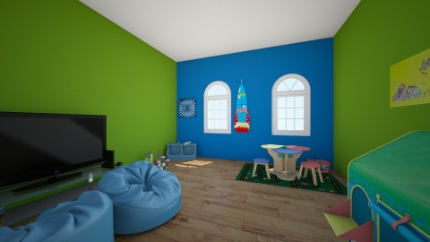 Kids Play Room  - by Beautifullyinspired