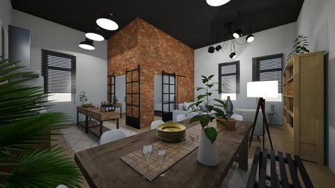 Expat Apartment - Living room - by Yate
