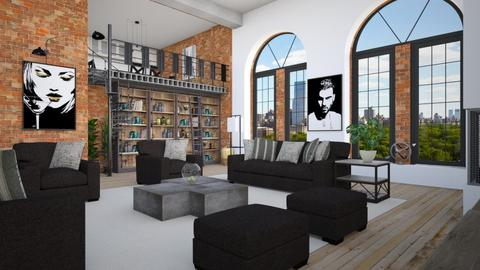 New York - Living room - by Lizzy0715