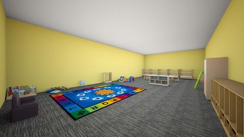 Daisies - Kids room - by CGLYBYLABWXHYANREQCCQXRZNZHPPCM
