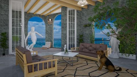 Ocean front - Living room - by Wildflowers