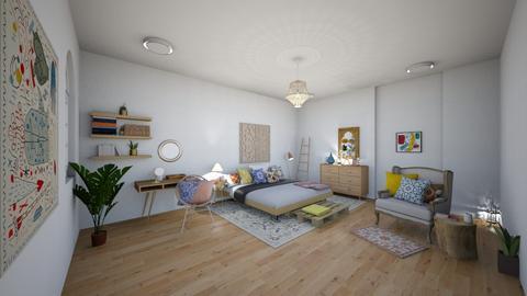 bohemain - Rustic - Bedroom - by ARTISTSIERRA
