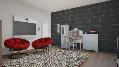 bed room - Modern - Bedroom - by the_mahla