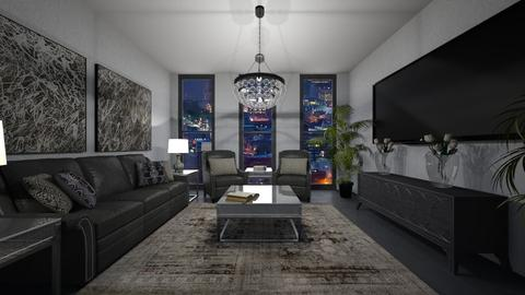 Template room - Living room - by chloe_mccarty