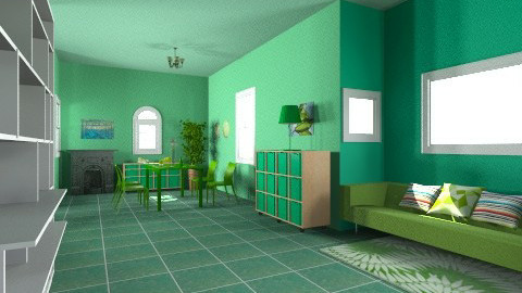 pinedas - Living room - by Aluap