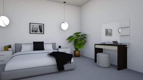 Green Guest Room  - Minimal - Bedroom - by georgie_henry