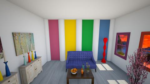 Wild Colors - Living room - by zellowiz
