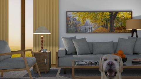 Autumn Coming Soon - Living room - by GraceKathryn