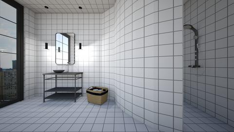 Monochrome - Bathroom - by amandafern