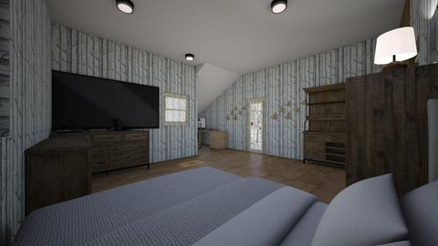 room - Country - Bedroom - by sturgek20