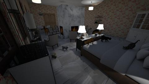 cats - Bedroom - by tbeals