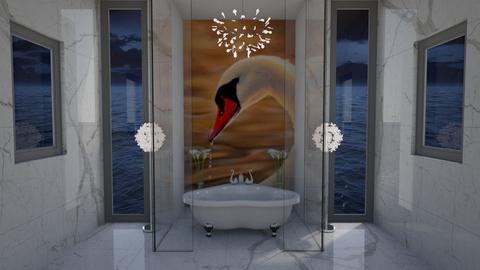 swan lake - Classic - Bathroom - by darcyclayton