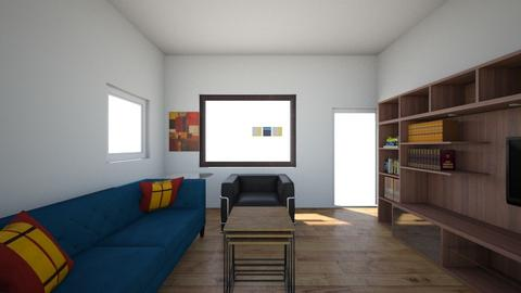 Proyecto Living Sofia - Living room - by adraued