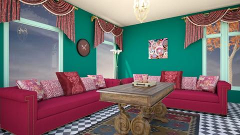 indian style - Vintage - Living room - by zayneb_17