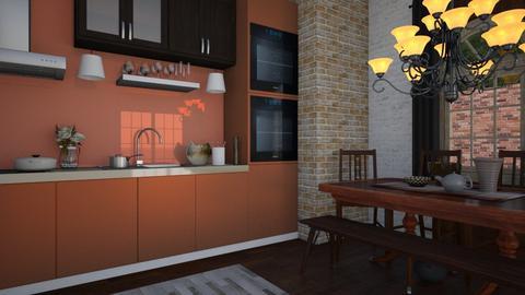 City Dining - Modern - Living room - by XiraFizade