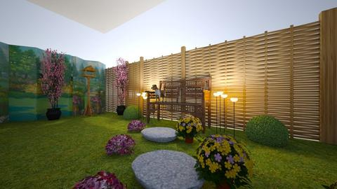 anas amazing garden - by amsparry