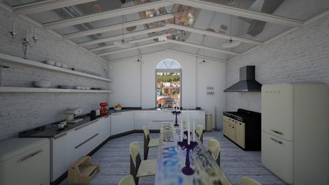 chapel kitchen - Eclectic - Kitchen - by kitty
