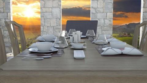 Italian Gourmet - Dining room - by Cairalacas